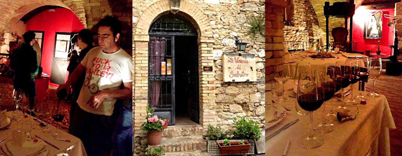 Abruzzo, Italy (Part III of IV) – Eccentric Dining at La Vineria di Salnitro