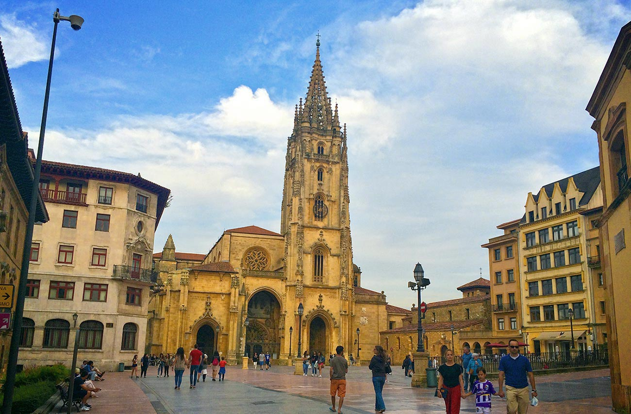 Traditional Music of Asturias & the Oviedo Cathedral of San Salvador