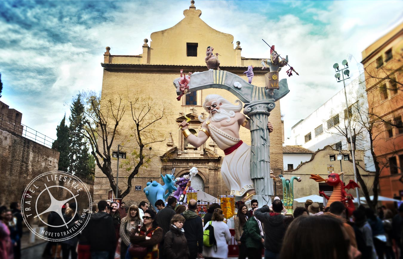 Fallas in Valencia, and Our 'Falla' About It