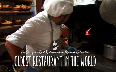 For One of the Best Restaurants in Madrid, Eat at the Oldest Restaurant in the World
