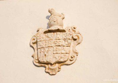 The village coat of arms in Monsaraz