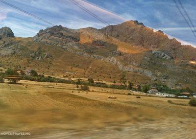 visitingAsturias-TrainRide