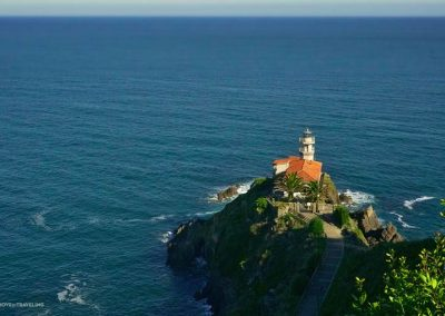 The lighthouse of Cudillero.