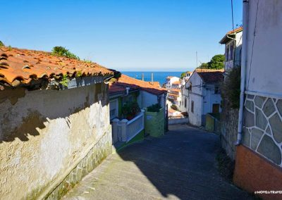 All the paths of Cudillero seem to lead to the ocean.