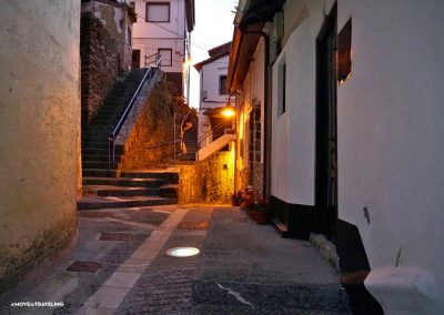 The charm of Cudillero at night.